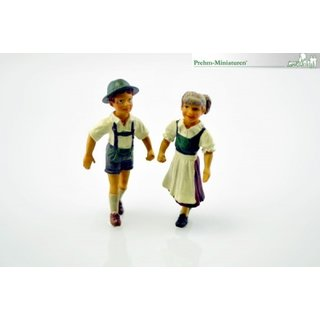 Kinderpaar Set, 2 Figuren